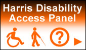 Harris Disability Access Panel