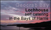 self catering in the Bays of Harris